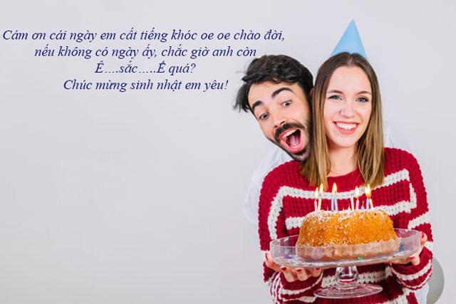 Lời chúc mừng sinh nhật hài hước, troll không thể thiếu cho những cặp đôi lầy lội