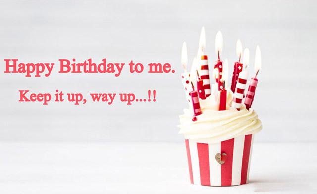 Tự gửi đến mình lời chúc sinh nhật cho tuổi mới