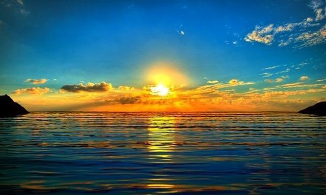 Thông thường mặt trời mọc từ khoảng từ 5 giờ đến 6 giờ sáng