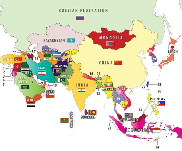 quốc gia trên thế giới