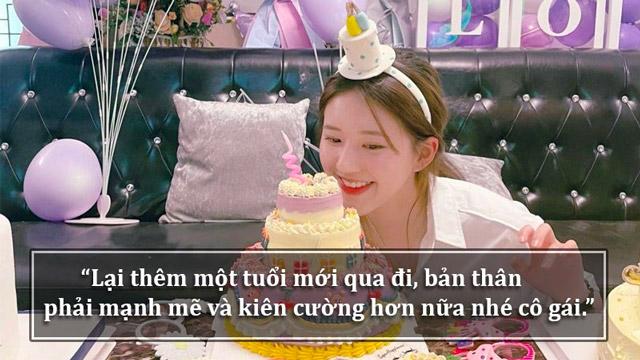 tự chúc sinh nhật mình